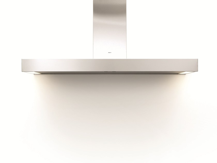 Wall-mounted cooker hood with integrated lighting 7305 PRO'LINE by NOVY