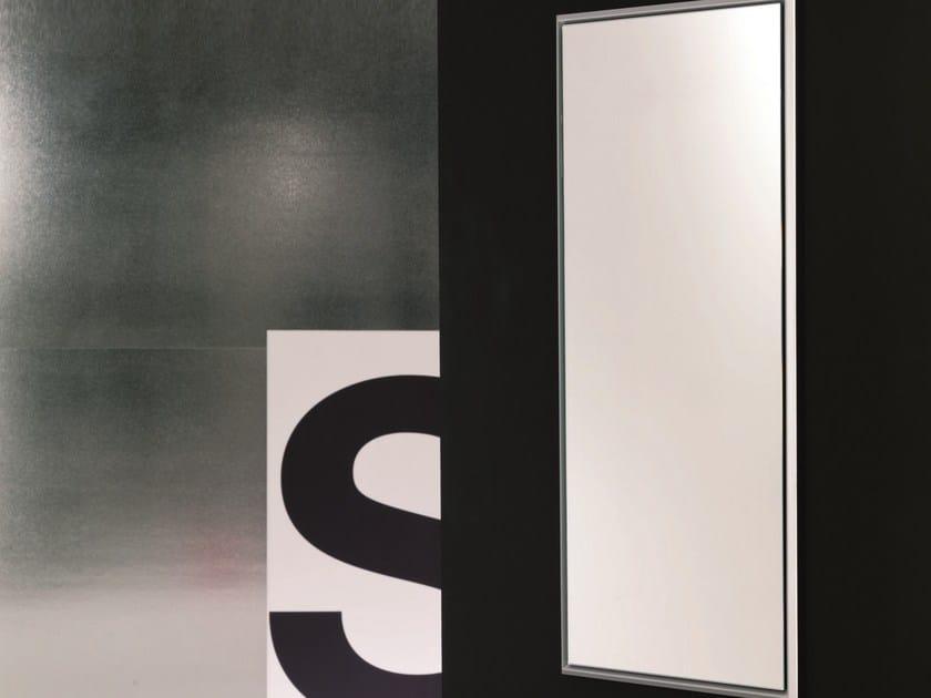Rectangular wall-mounted framed mirror DIAGONAL   Wall-mounted mirror by Bontempi