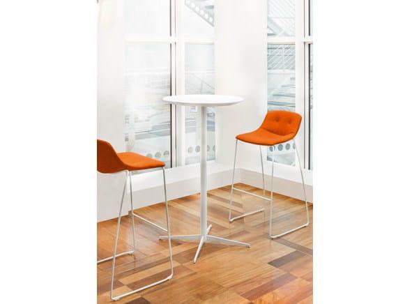 High sled base stool FREE   Sled base stool by Sesta