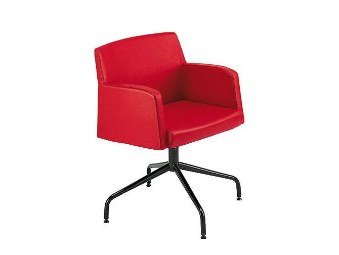 Fabric easy chair with armrests ADA 3 | Easy chair with armrests by Sesta