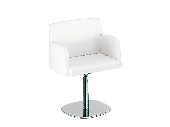 Swivel easy chair with armrests ADA 3 | Swivel easy chair by Sesta