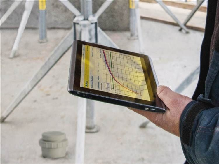 Measurement, control, thermographic and infrared instruments CONCREMOTE by Doka Italia