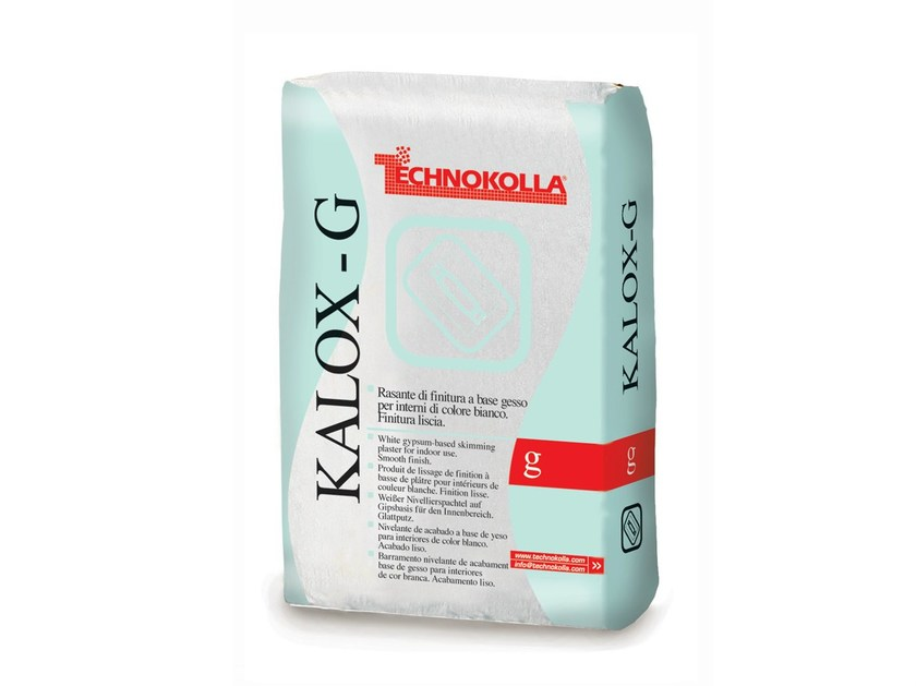 Skim coat and cementitious finish for plaster KALOX-G by TECHNOKOLLA - Sika