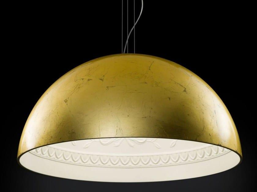 Gold leaf pendant lamp CHIARODÌ | Pendant lamp by Metal Lux