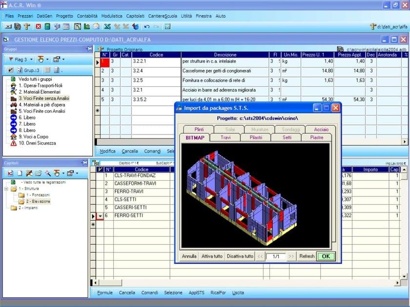 ACRWin Procedura di importazione automatica