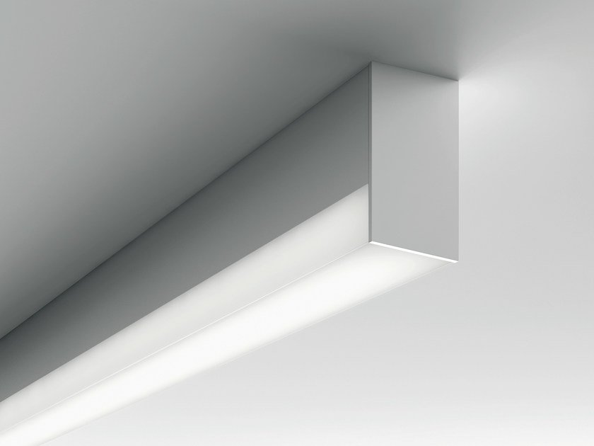 Extruded aluminium ceiling lamp MINIFILE OPENLIGHT | Ceiling lamp by LUCIFERO'S