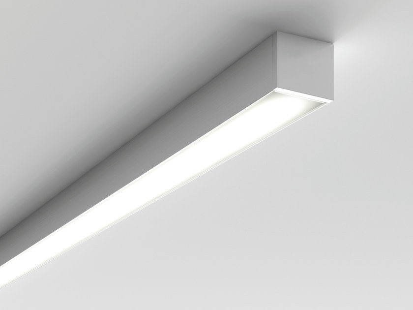 Led direct light ceiling lamp microfile ceiling lamp by luciferos