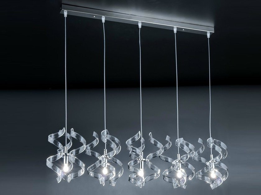 Lux AstroLampada Cristallo A Sospensione Metal In N0nv8mw