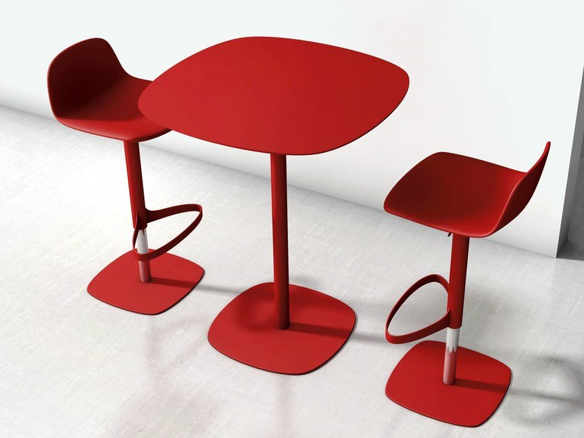 Lacquered high table CLYDE by Bonaldo