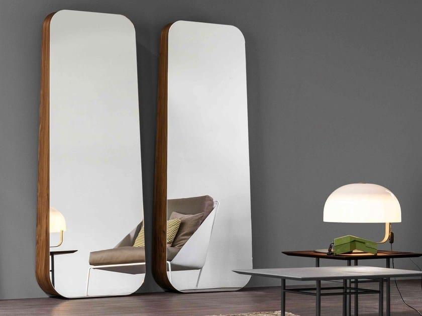 Wall-mounted mirror OBEL by Bonaldo