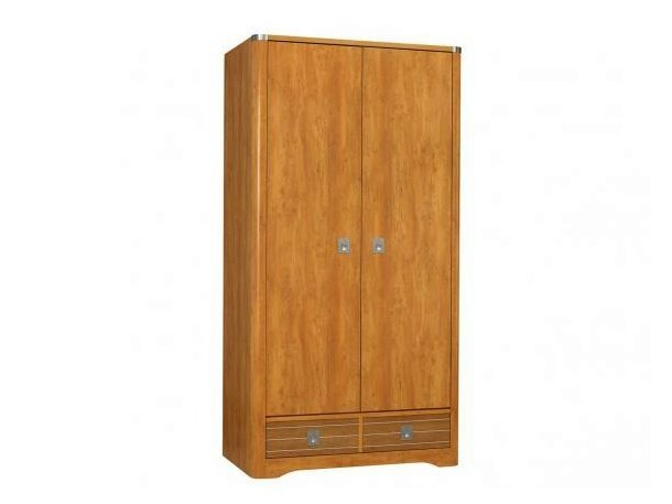 Wooden wardrobe with drawers MAJESTIC | Wardrobe by GAUTIER FRANCE
