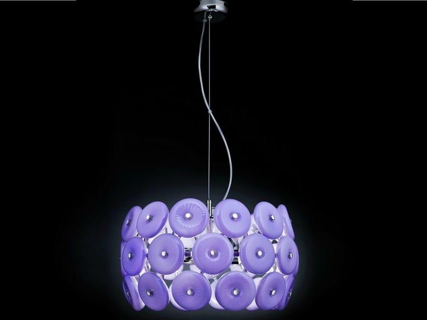 Crystal pendant lamp STAR   Pendant lamp by Metal Lux