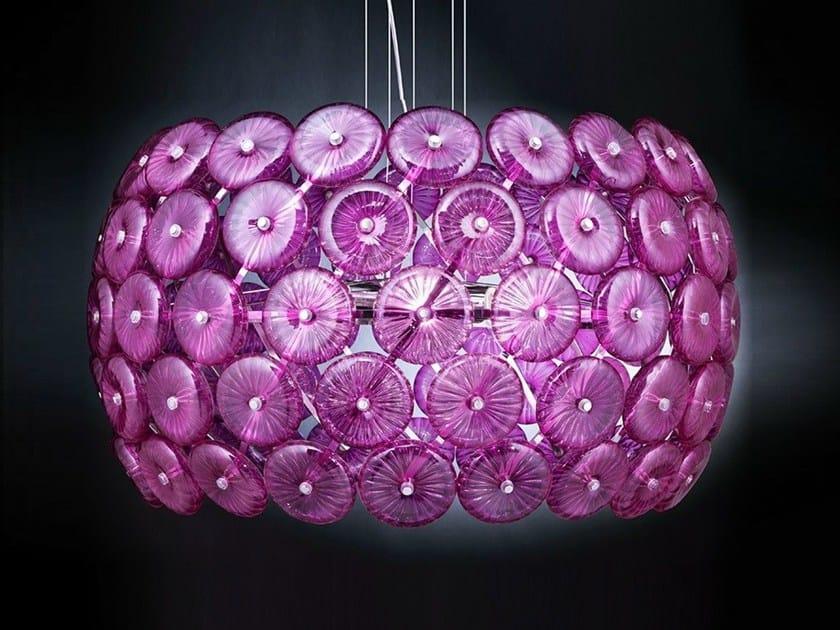 Crystal pendant lamp STAR | Pendant lamp by Metal Lux
