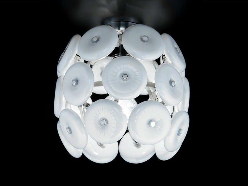 Crystal ceiling lamp STAR | Ceiling lamp by Metal Lux