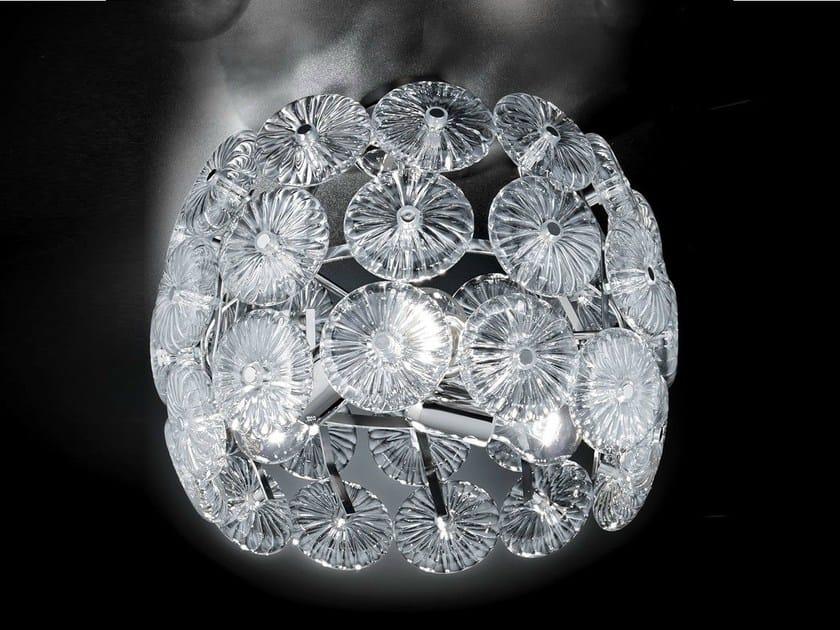Crystal ceiling lamp STAR   Ceiling lamp by Metal Lux