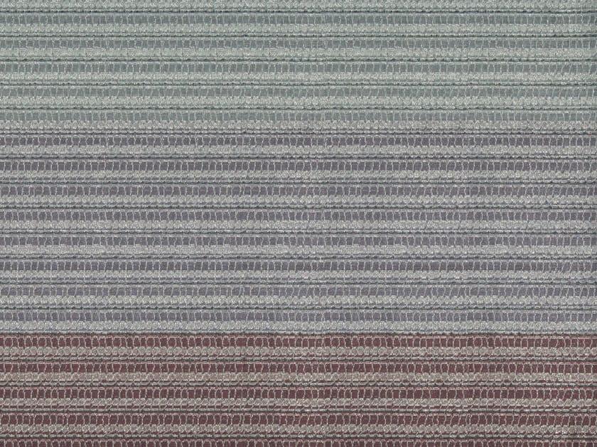 Striped cotton and linen fabric ASAWA 2 by KOHRO