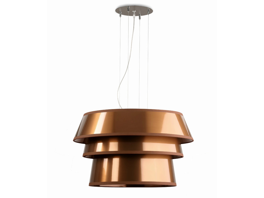 Fluorescent pendant lamp UFO70 by Hind Rabii
