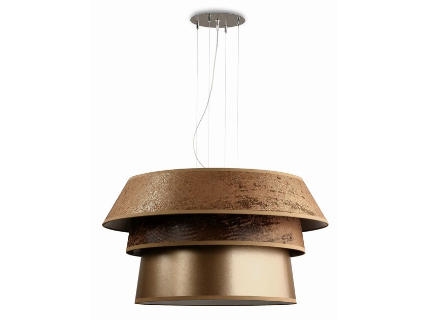 Fluorescent pendant lamp UFO100 by Hind Rabii