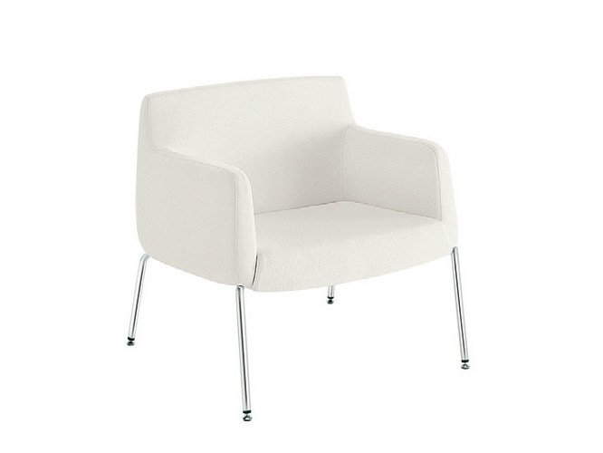 Upholstered easy chair with removable cover ADA 4 | Easy chair by Sesta