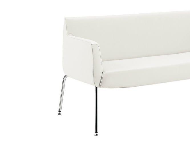 Fabric small sofa ADA 4 PLUS | Small sofa by Sesta