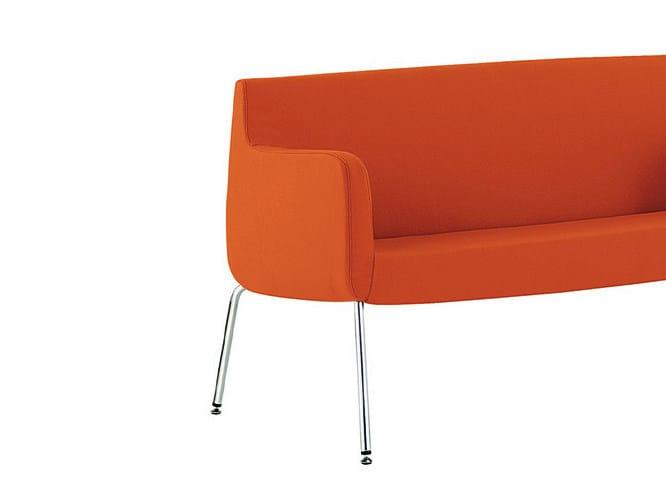 Fabric small sofa ADA 4 | Small sofa by Sesta