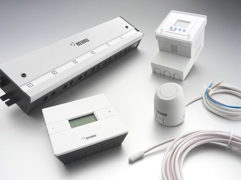 Control system for air conditioning system NEA by REHAU