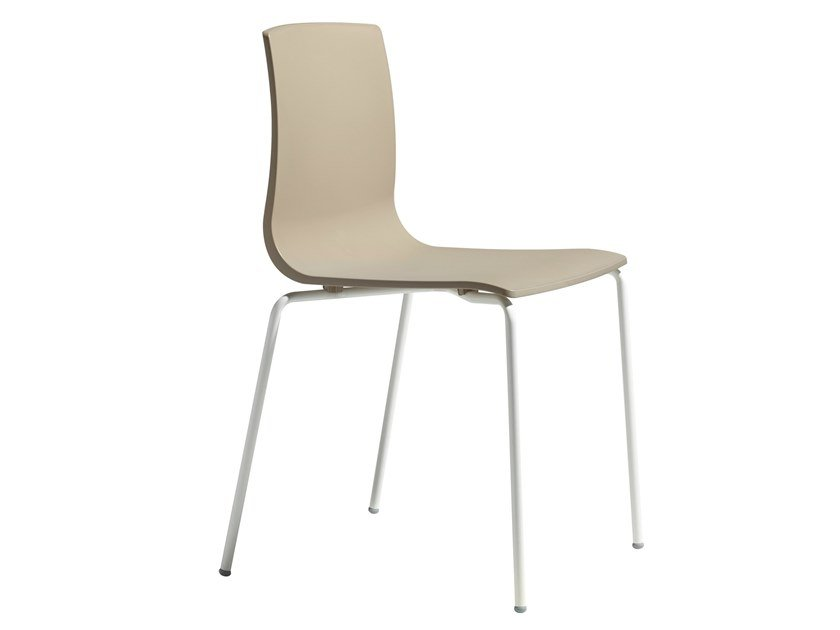 Technopolymer chair ALICE CHAIR by SCAB DESIGN