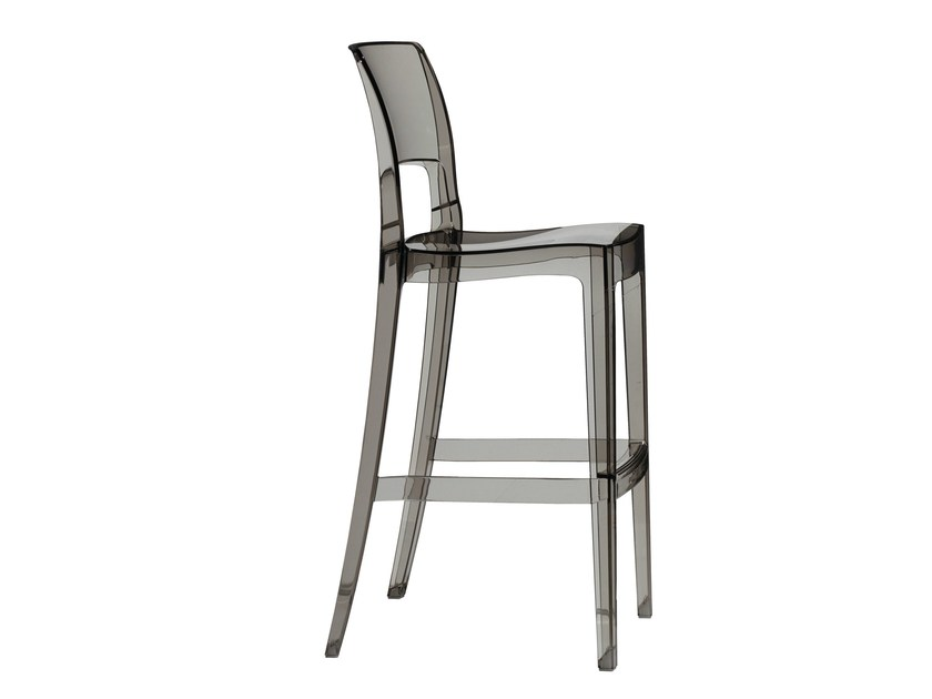 High stackable polycarbonate garden stool ISY | High stool by SCAB DESIGN