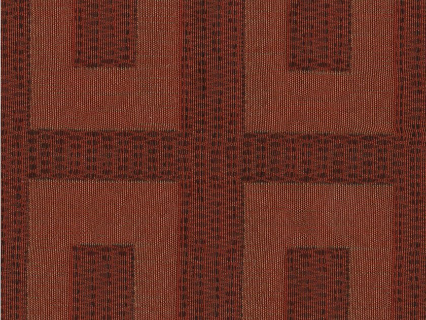 Cotton fabric with graphic pattern TASSILO by KOHRO
