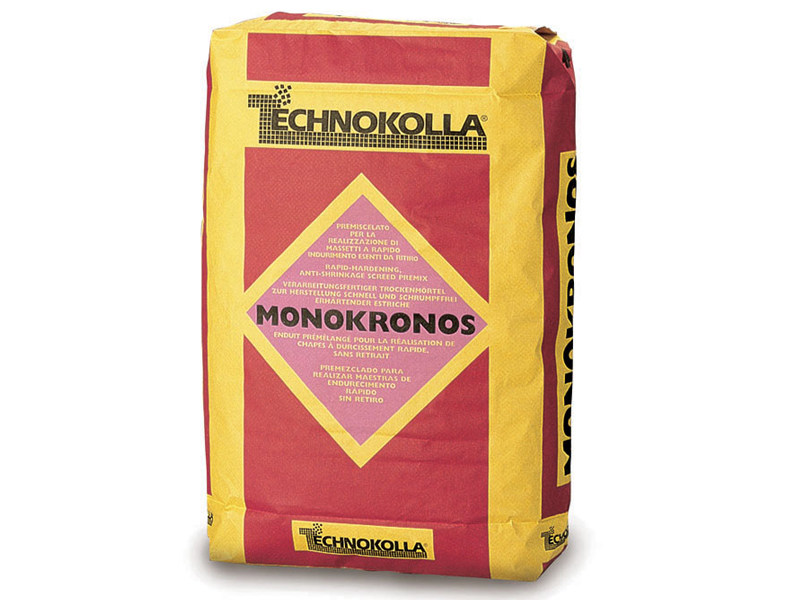 Screed and base layer for flooring MONOKRONOS by TECHNOKOLLA - Sika