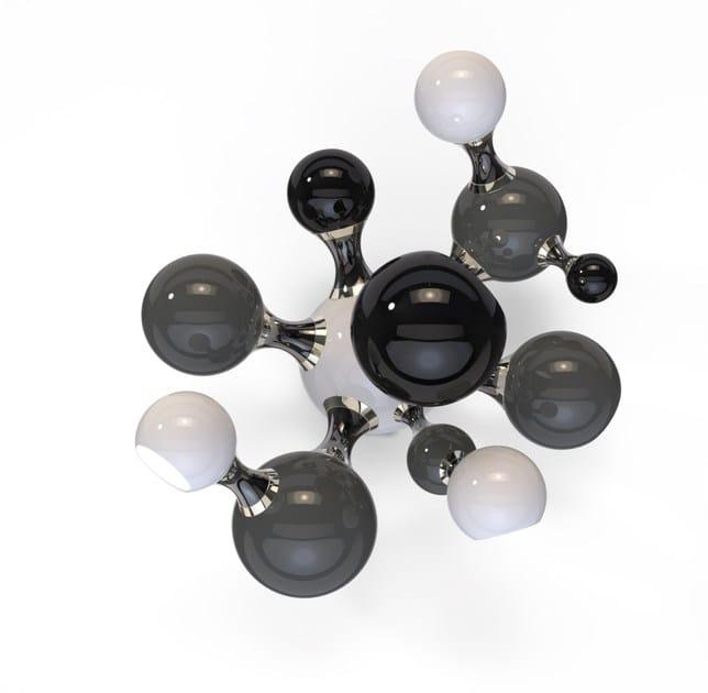 Parete In Alluminio Delightfull AtomicLampada Da Alogena cRq354jAL