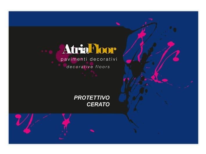 Protective varnish ATRIAFLOOR PROTETTIVO CERATO by COLORIFICIO ATRIA