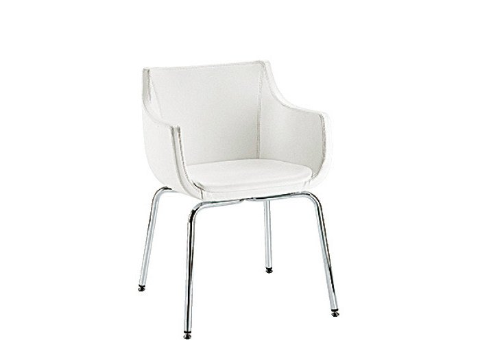 Reception chair with armrests D&N PAD   Reception chair by Sesta