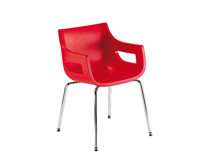 Polyethylene visitor's chair DAY&NIGHT | Visitor's chair by Sesta