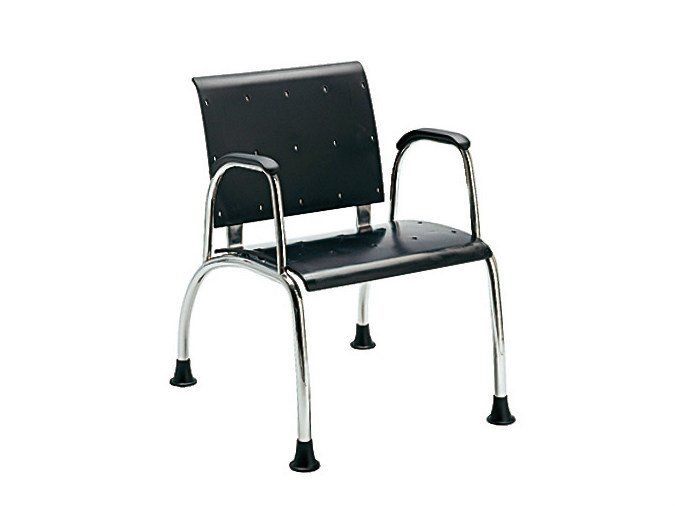 Visitor's chair with Armrests TOMMY | Visitor's chair by Sesta