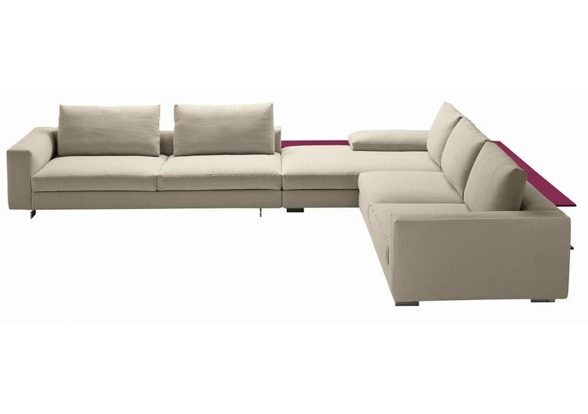 Sectional sofa SCOTT 1235 by Zanotta