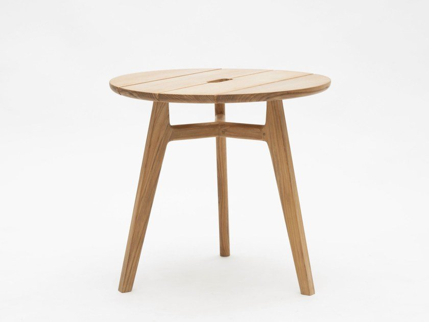 Teak coffee table KNIT | Coffee table by Ethimo