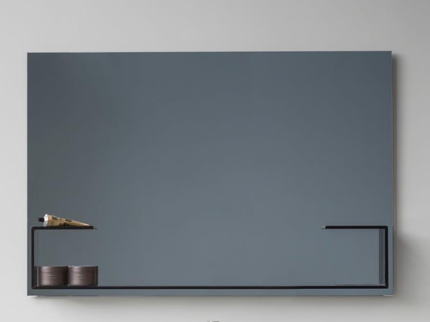 Specchio a parete per bagno MOODE | Specchio rettangolare by Rexa Design