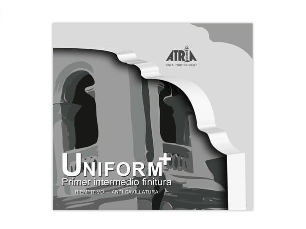 Base coat and impregnating compound for paint and varnish UNIFORM PLUS by COLORIFICIO ATRIA