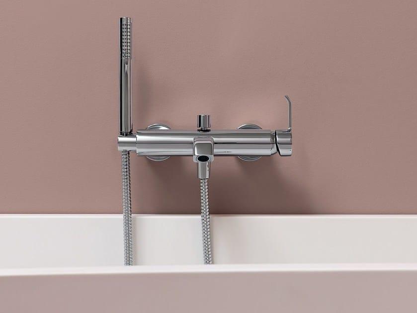 Rubinetteria Vasca Da Bagno Zucchetti : Rubinetto per vasca a muro monocomando con doccetta zon