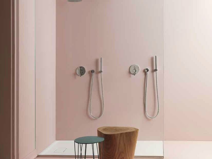 Contemporary style single handle shower tap ZoN 127+R99684 by ZUCCHETTI