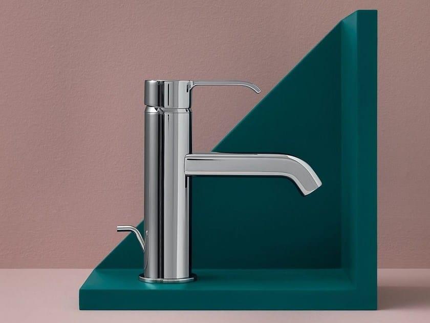 Single handle chromed brass washbasin tap ZoN 594 by ZUCCHETTI