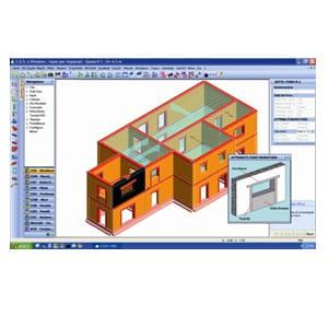 Masonry and mixed construction calculation CDMa Win by STS
