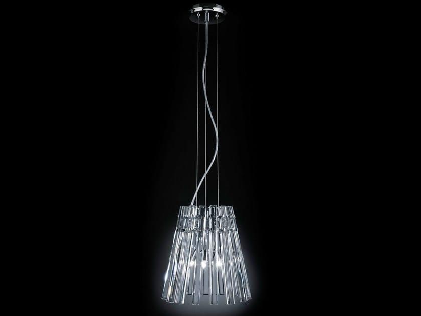 Crystal pendant lamp CIRCLE | Pendant lamp by Metal Lux
