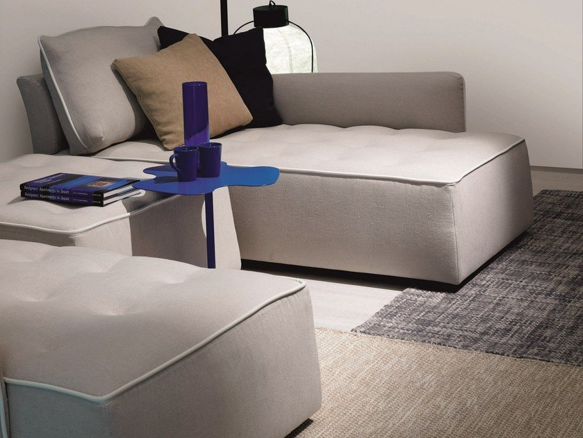 Upholstered fabric day bed ANTARES | Day bed by Bontempi
