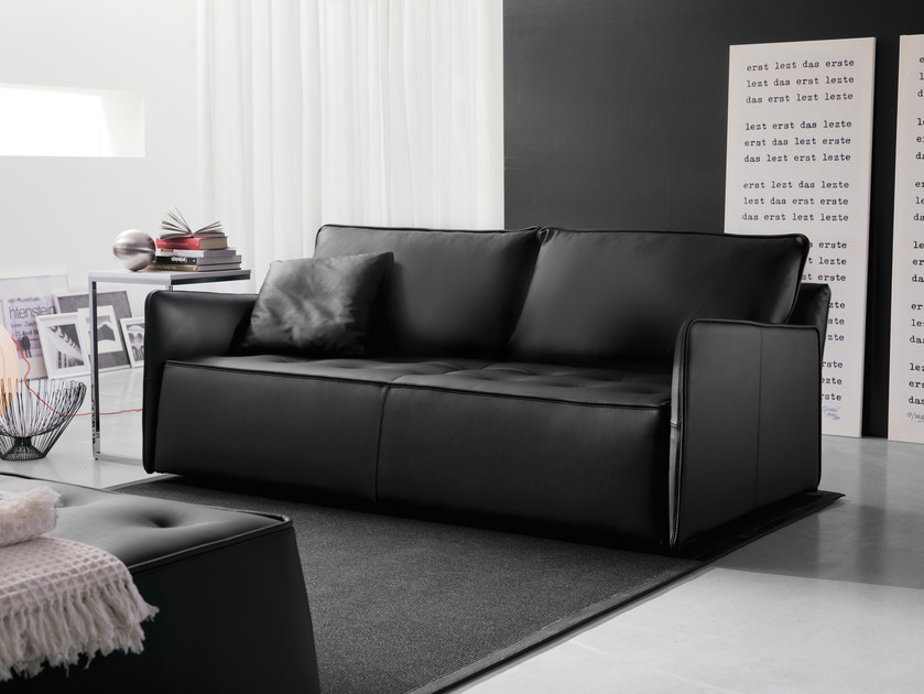 3 seater sofa ANTARES | Leather sofa by Bontempi