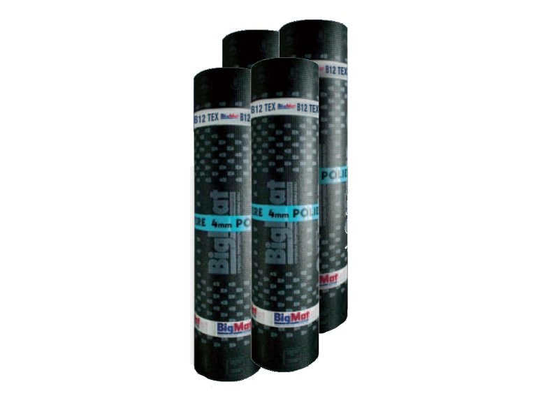Prefabricated bituminous membrane B12 TEX by BigMat