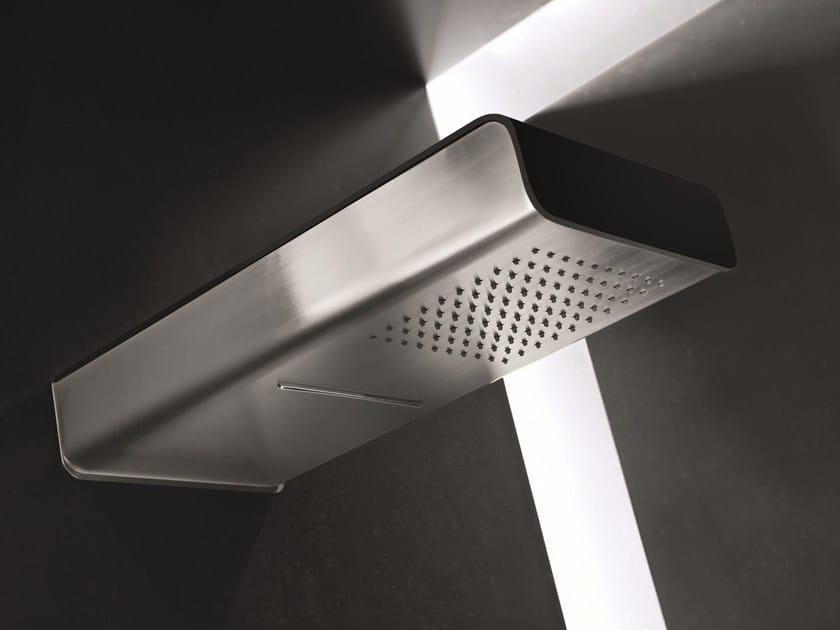 Wall-mounted rain shower MACÒ   Wall-mounted overhead shower by GEDA