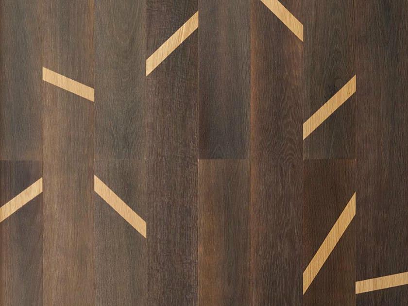 Wooden wall/floor tiles SCOTCH by MENOTTI SPECCHIA