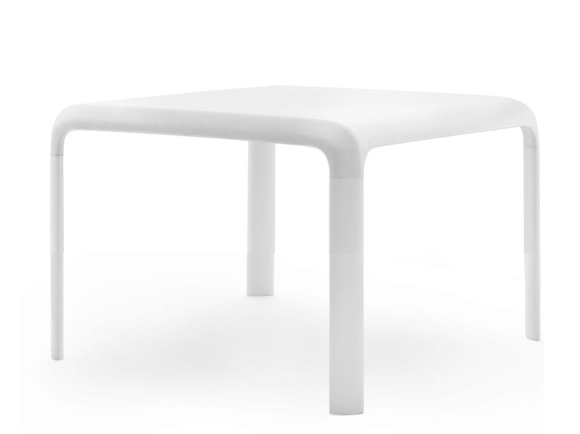 Square polypropylene Kids table SNOW JUNIOR | Kids table by PEDRALI
